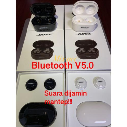 Foto Produk JBL C230 TWS Bluetooth Earphone Wireless Headphones For Andorid & Ios - BOSE FREE HITAM dari Mix acc88