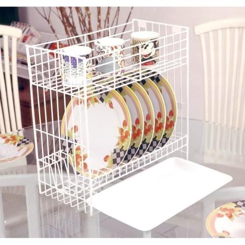 Foto Produk Rak Piring Mini 2 Susun + Tatakan B 30 MED + T / Kitchen 2 Stack Plate dari Toko Income