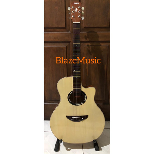 Foto Produk Gitar akustik Yamaha APX 500 MURAH Paket Lengkap - Natural dari Blaze Music