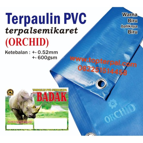 Foto Produk Terpaulin PVC Semi Karet - Terpal Paling Tebal - Tarpaulin Murah dari Top Terpal Surabaya