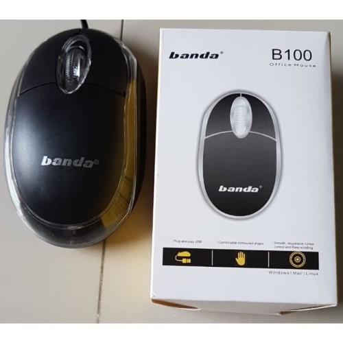 Foto Produk Optical Mouse 3 tombol USB Standard dari Terabit Komputer