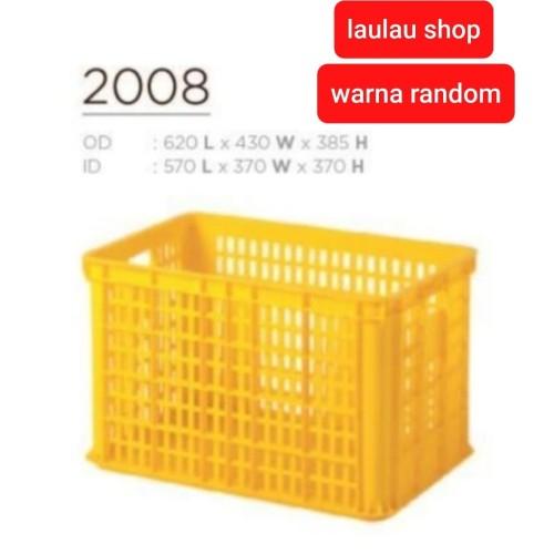 Foto Produk Keranjang Industri Rabbit 2008 / Box Container Krat Plastik Roti dari LAULAU SHOP