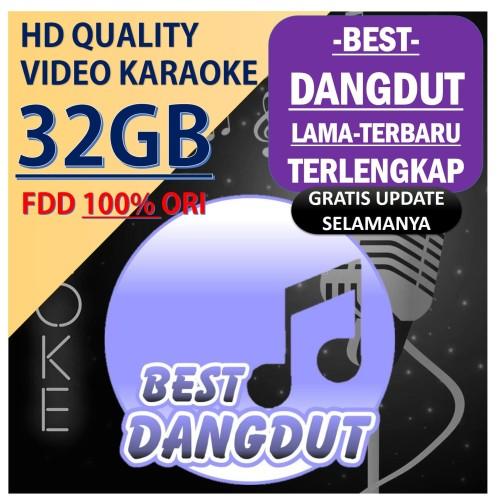 Foto Produk Lagu Karaoke BEST DANGDUT FULL 32GB dari OKE KARAOKE