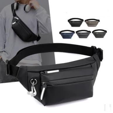 Foto Produk Tas Selempang Pria Multifungsi Tas Slempang Waistbag Waterproof # 12 - Biru dari Alat Ukur Dan Repeater