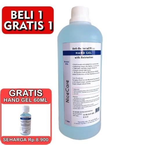 Foto Produk Hand Sanitizer 1 Liter GEL Alcohol 70% Izin Edar DEPKES dari GCL Official Store