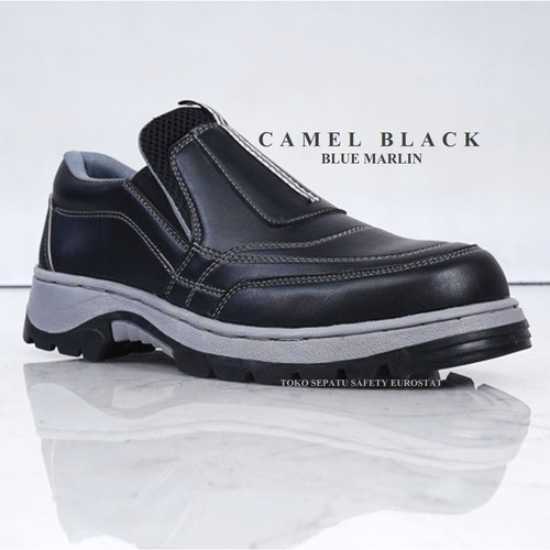 Foto Produk Blue Marlin - Camel Navy - 39, Hitam dari Eurostat Safety Shoes