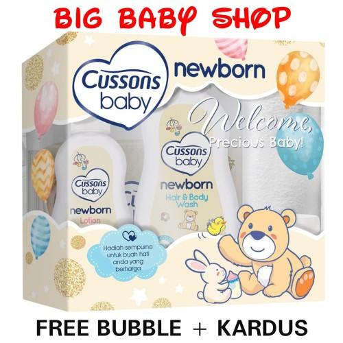 Foto Produk CUSSONS BABY Newborn New Born Pack/Paket Bayi Newborn CUSSONS BABY dari BIG BABY & KIDS SHOP