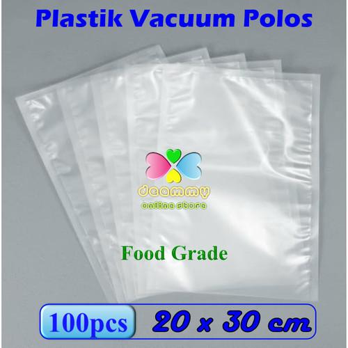 Foto Produk Plastic Vacuum Bag Polos 20 x 30 cm, Plastik Vakum Bag Sealer dari Deammy OL Store
