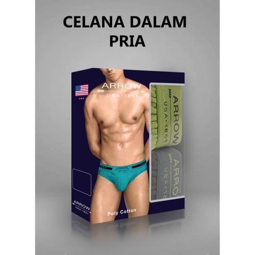 Foto Produk MUNDO-celana dalam arrow-celana dalam pria-AUYTM12 - Random, L dari Mundo Sock Shop