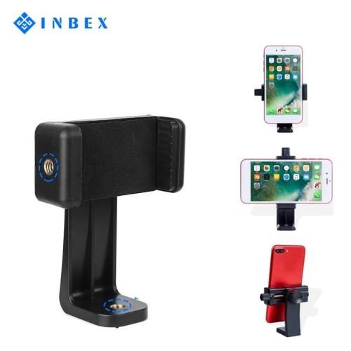 Foto Produk INBEX Tripod Phone Holder/Tripod Mount Adapter Smartphone Holder dari INBEX Official Store