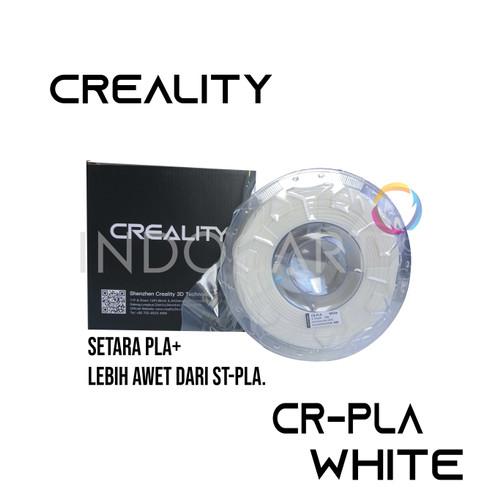 Foto Produk INDOCART Tinta Filamen 3D Printer Filament CREALITY CR-PLA 1.75mm 1kg - Putih dari INDOCART
