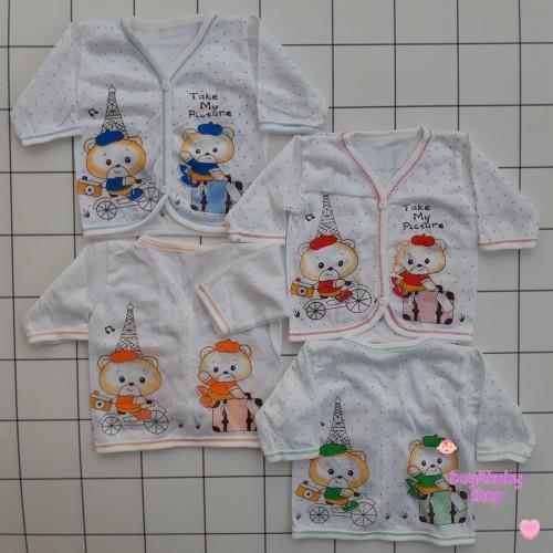 Foto Produk Baju bayi mega newborn lengan panjang isi 6 PCS dari buy2babyshop