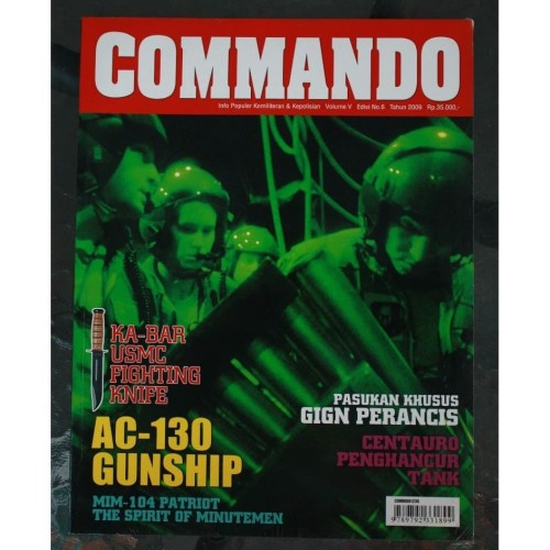 Foto Produk Majalah Commando No. 6 Tahun 2009 dari Airspace Review
