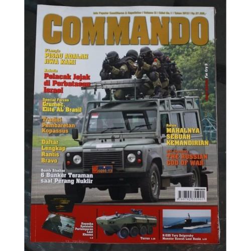 Foto Produk Majalah Commando No. 1 Tahun 2013 dari Airspace Review