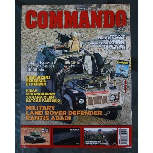 Foto Produk Majalah Commando No. 4 Tahun 2014 dari Airspace Review