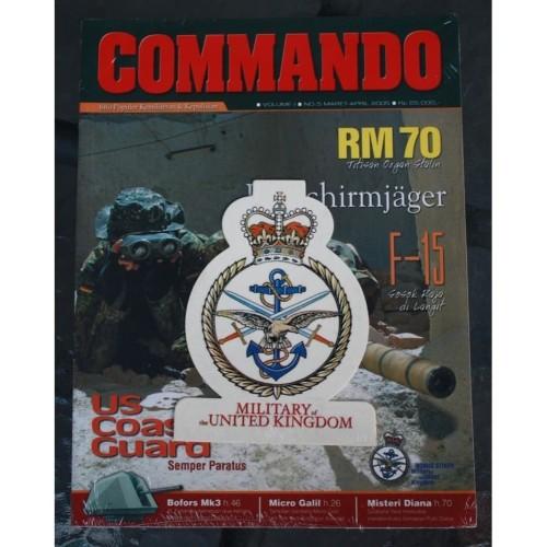 Foto Produk Majalah Commando No. 5 Tahun 2005 dari Airspace Review
