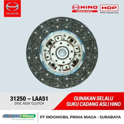 Foto Produk Kampas Kopling / DISC ASSY CLUCTH Hino Dutro 130 HD / MD (12 Inch) dari INDOMOBIL_HINO_JATIM