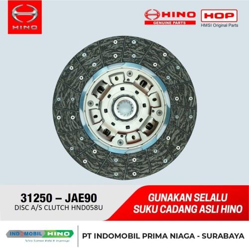 Foto Produk Kampas Kopling / DISC ASSY CLUCTH Hino Ranger (500) / Lohan (15 Inch) dari INDOMOBIL_HINO_JATIM