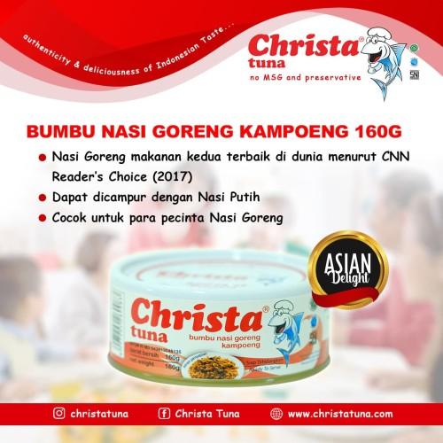Foto Produk Christa Tuna - Tuna Nasi Goreng Kampung Dalam Kaleng dari Christa Tuna Official