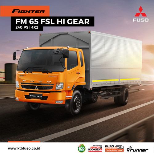 Foto Produk FusoFighter FM 65 FSL HI GEAR dari Fuso Wicaksana Berlian