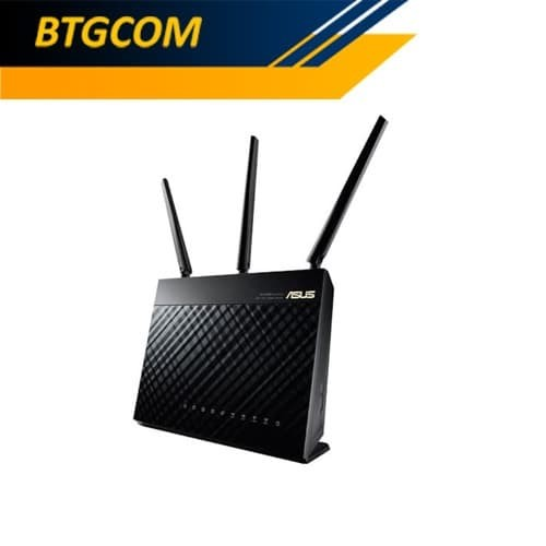 Foto Produk Asus RT-AC68U AC1900 Dual Band Gigabit WiFi Router RTAC68U dari BTGCOM
