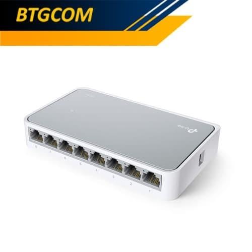 Foto Produk TP-Link TL-SF1008D 8-Port 10-100Mbps Desktop Switch / TPLink TLSF1008D dari BTGCOM