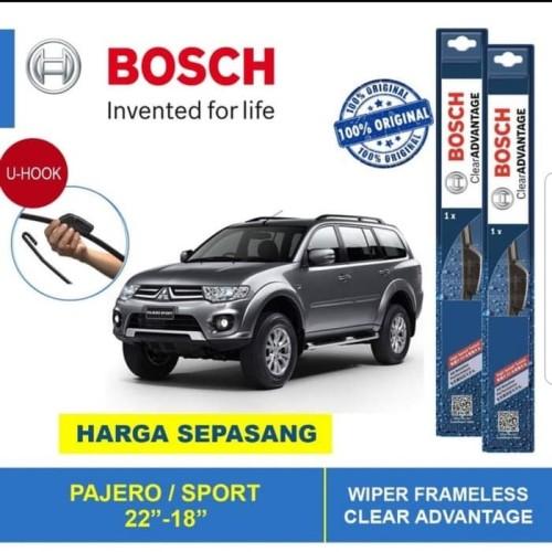 "Foto Produk Wiper Blade Pajero Sport Frameless ADVANTAGE 18-22"" ORIGINAL dari Indo Utama Otoparts"