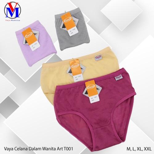 Foto Produk Celana Dalam Wanita Tasya Art T001 - XL, Cream dari VAYA MADELON