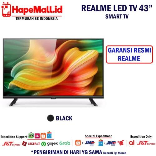 Foto Produk REALME LED SMART TV 43 INCH GARANSI RESMI REALME INDONESIA TERMURAH - Hitam dari Hapemall.id