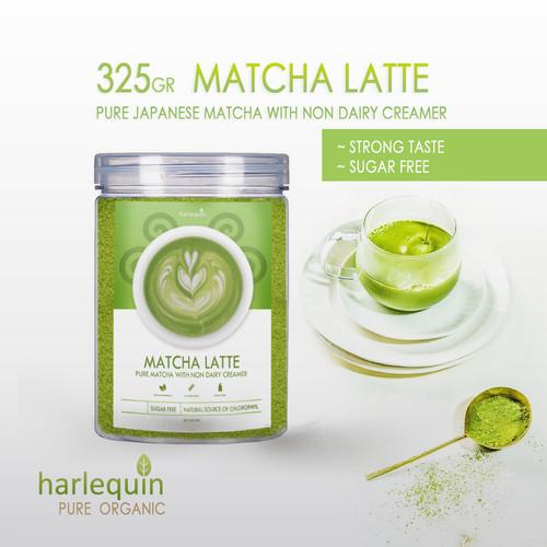 Foto Produk Matcha Latte Japan 325 Gram - Strong Taste - Sugar Free dari Harlequin Herb