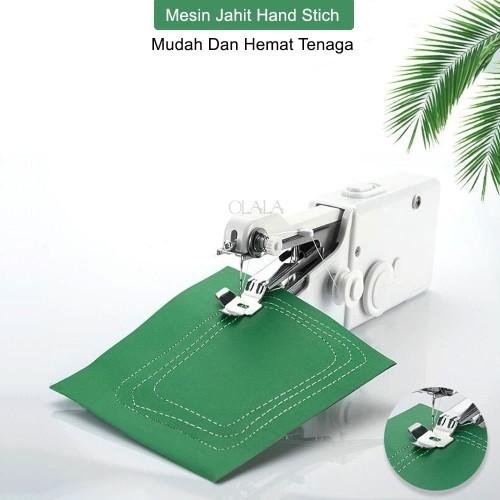 Foto Produk HANDY STITCH MESIN JAHIT GENGGAM MINI PORTABLE SEWING MACHINE CS-101B dari olala_jakarta