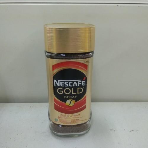 Foto Produk Nescafe Gold Decaf 100g dari cubeecubee