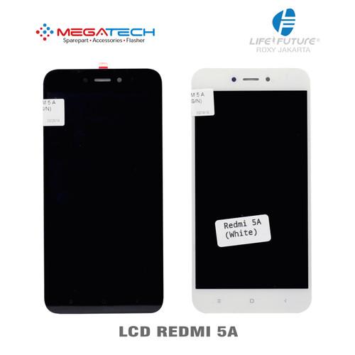 Foto Produk LCD XIAOMI REDMI 5A / REDMI 5 A + TOUCHSCREEN - Putih dari Megatech Life Future