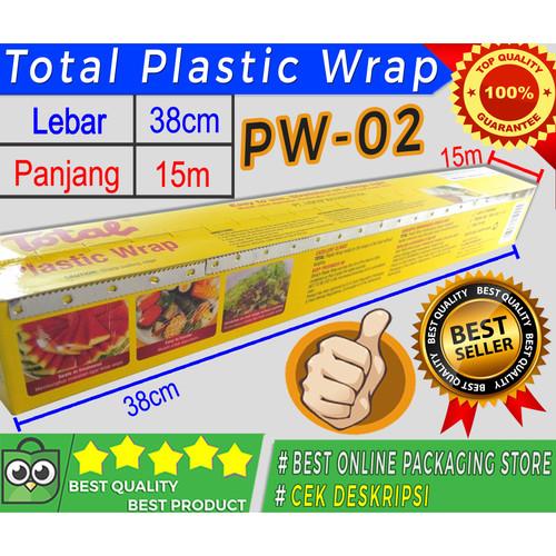 Foto Produk TOTAL PLASTIC WRAP / PLASTIK WRAP TOTAL ( PW-02) TERMURAH dari Jaya Plastik