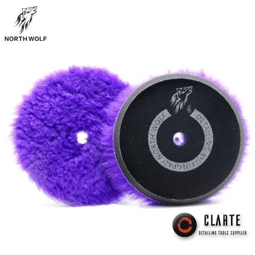 Foto Produk wool pad PURPLE japanese long hair 5/6 inch dari CLARTE DETAILING TOOLS