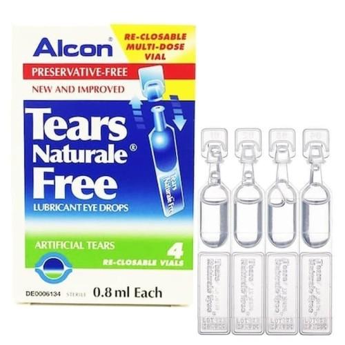 Foto Produk Alcon Tears Naturale Free / Artificial tears / Tetes Air mata buatan dari avl corner shop