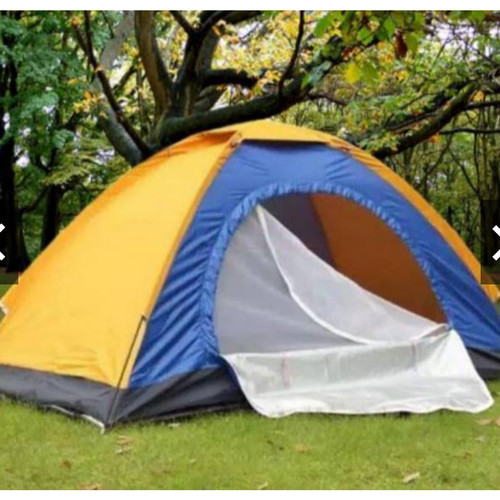 Foto Produk Tenda Camping Gunung Mendaki Dome Loreng Camo 4 ORANG 200cm X 200cm - Kuning dari Grosir Termurah 1688