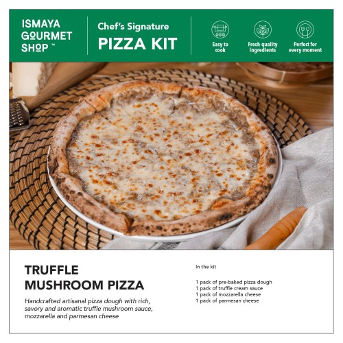 Foto Produk Ismaya Pizza Kit: Truffle Mushroom dari Ismaya Gourmet Shop