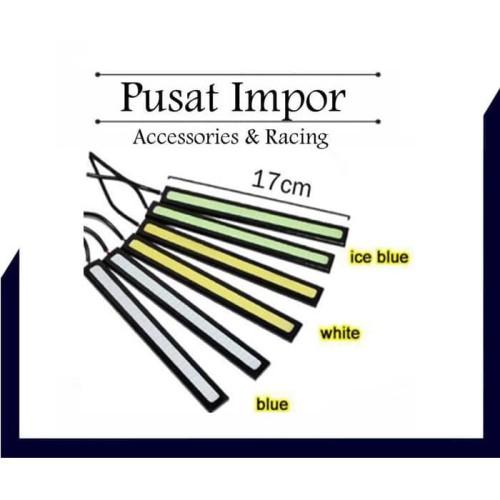 Foto Produk Lampu DRL LED COB Plasma 17cm Murah Berkualitas 24chip 17 cm - Putih dari Pusat Impor