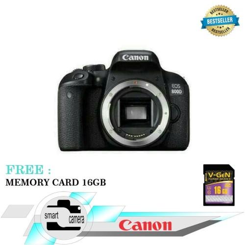 Foto Produk CANON EOS 800D BODY ONLY dari Smart Camera