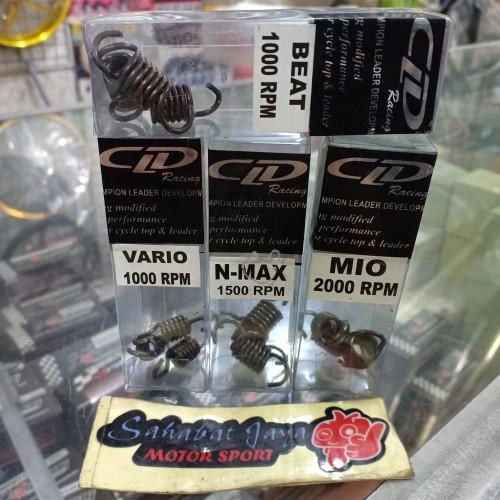 Foto Produk Per Kampas Ganda CLD Racing Mio Beat Vario Nmax PCX 1000 1500 2000RPM dari Sahabat Jaya Motor
