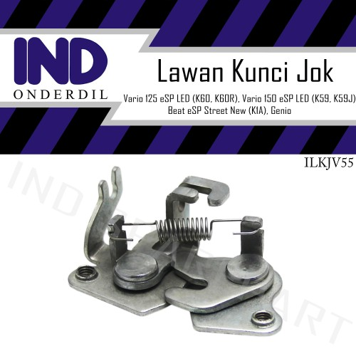 Foto Produk Engsel Dudukan Lawan Kunci Jok Dalam-Kupu-Kupu Vario 125-150 New LED dari IND Onderdil