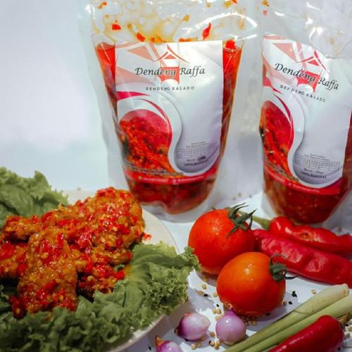 Foto Produk Dendeng Raffa - Dendeng Batokok Cabai Merah - 200gr dari Indonesia Mall