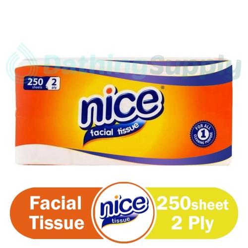Foto Produk Tissue NICE Facial 250 Sheet 2 PLY - Tissu - Tisue Wajah Murah dari Dathing Supply