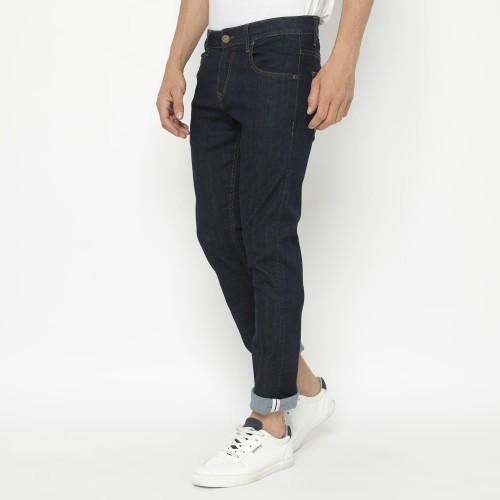Foto Produk Papperdine 712 Rinse Slim Fit Celana Panjang Jeans Pria Selvedge - 32 dari Papperdine Jeans