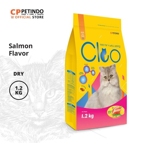 Foto Produk CPPETINDO Cleo Salmon Adult Cat - 1,2kg dari CPPETINDO