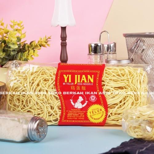 Foto Produk Mie Telur Yi Jian 200 gr / Mie Kering Telor - KECIL dari Toko BERKAH Sembako.