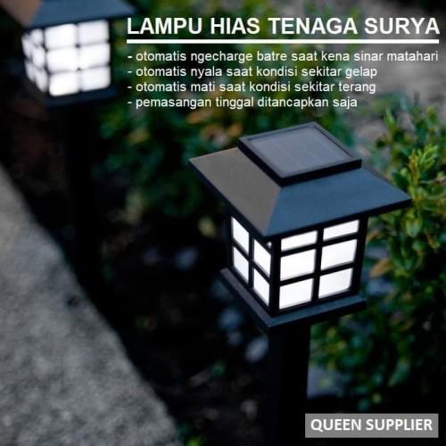 Jual Lampu Hias Taman Tenaga Surya Lampu Taman Tenaga Surya Solar Cell Jakarta Timur Queensupplier Tokopedia