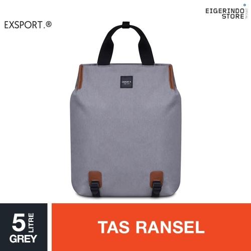 Foto Produk Exsport Ash Simony 2 Way Carry Laptop Bag - Grey 16L dari Eigerindo Store