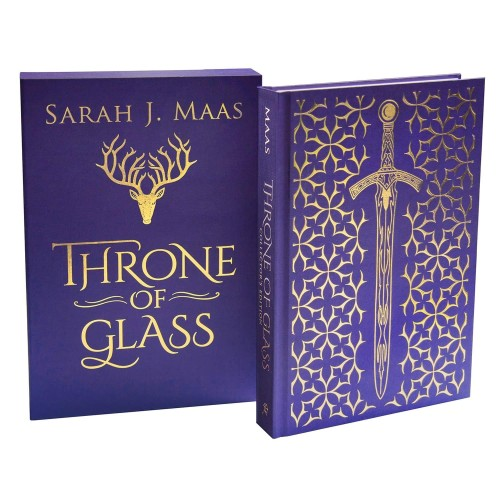 Foto Produk Throne of Glass (Collector's Edition) by Sarah J Maas Novel Import dari Flori Kitchen shop
